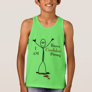 I Am + Brave + Strong + Confident Tank Top