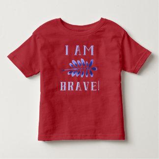 I am Brave! Toddler Affirmation T-Shirt
