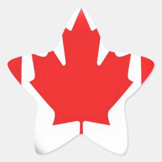 I Am Canada Star Sticker