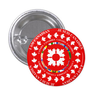 I am Canadian / Je Suis Canadien Button