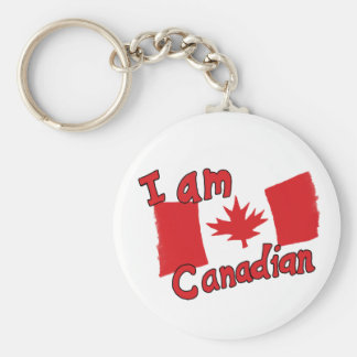 I am Canadian Keychain