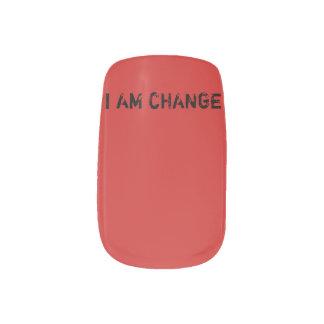 i am change  Nail Minx Nail Art