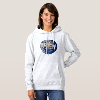I am connected earth hoodie