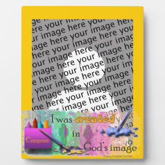 I Am Created In God's Image Plaques