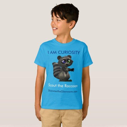 I AM CURIOSITY tshirt