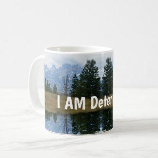 I AM Determined Grand Tetons Mug