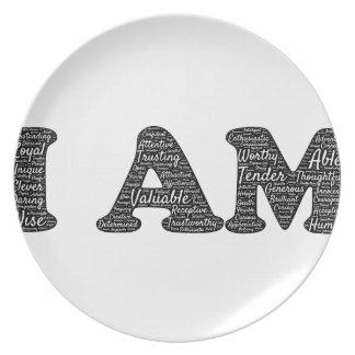 i-am dinner plate
