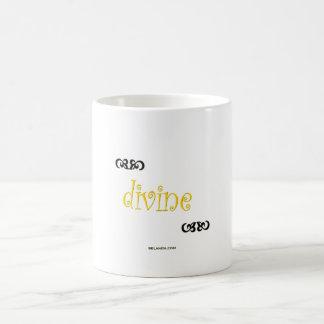 I am divine coffee mug
