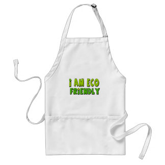 I am eco-friendly standard apron