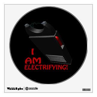 I Am Electrifying Wall Sticker