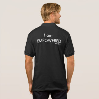 I am Empowered Acts 1:8 Polo Shirt