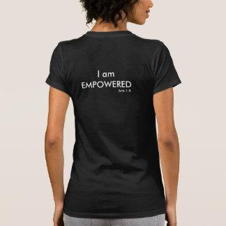I am Empowered Acts 1:8 Women's Short Sleeve Shirt