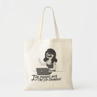 I am engaged with the 7th chamber - tote bag