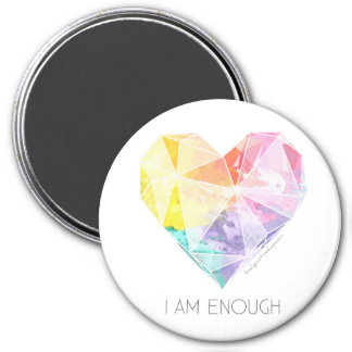 I Am Enough - Refrigerator Magnet