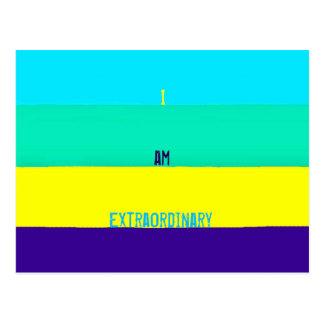 I AM Extraordinary Postcard