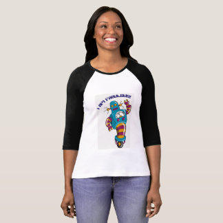 """I am fabulous!"" robot women's t-shirt"
