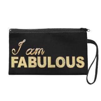 I am Fabulous Wristlet Purses