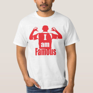 I am famous men t-shirt
