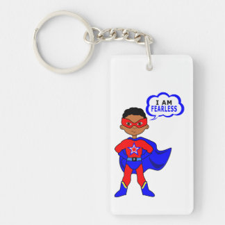 I Am Fearless Keychain