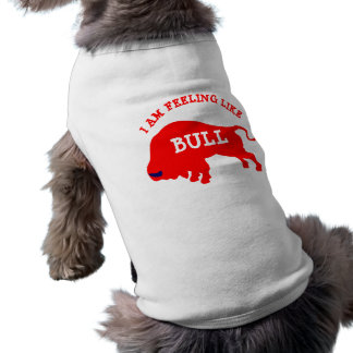 I Am Feeling Like Bull Doggie Ribbed Tank Top