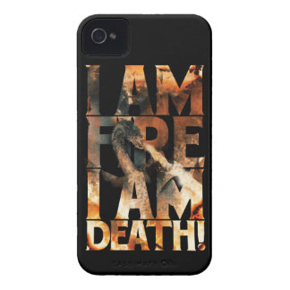 I Am Fire I Am Death! iPhone 4 Covers