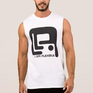 I am flexible sleeveless shirt