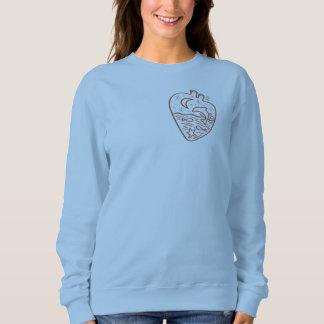 I am fond of water sweatshirt