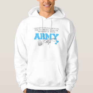 I am Fortunate - Army Wife Hoodie
