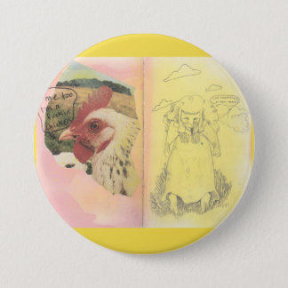 I Am Frightened Of Most Things | Pin in Yellow