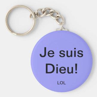 I am God! Key Chains