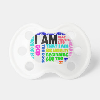 I Am God Pacifier