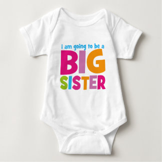 I am going to be a Big Sister T Shirt