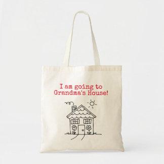 i am going to grandma's house tote