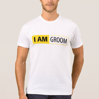 I AM GROOM | I AM NIKON SERIES T-SHIRTS
