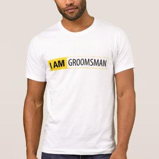 I AM GROOMSMAN | I AM NIKON SERIES T-SHIRTS