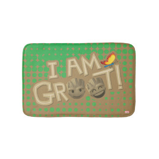 """I Am Groot"" Emoji Bath Mat"