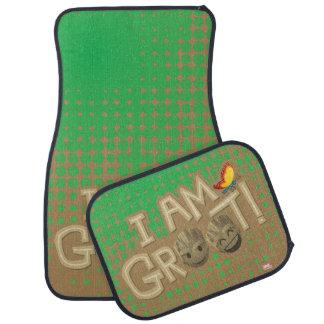 """""""I Am Groot"""" Emoji Car Mat"""
