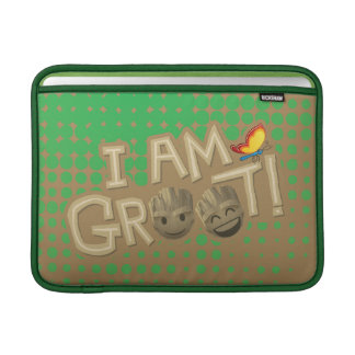 """I Am Groot"" Emoji MacBook Sleeve"
