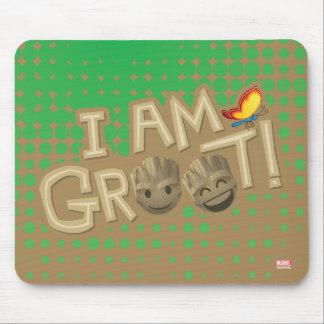"""I Am Groot"" Emoji Mouse Pad"