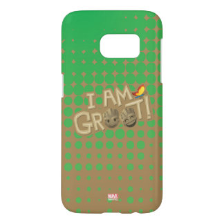 """I Am Groot"" Emoji Samsung Galaxy S7 Case"