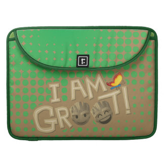 """I Am Groot"" Emoji Sleeve For MacBook Pro"