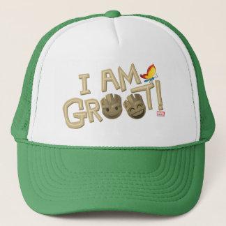 """I Am Groot"" Emoji Trucker Hat"