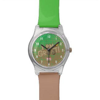 """I Am Groot"" Emoji Watch"