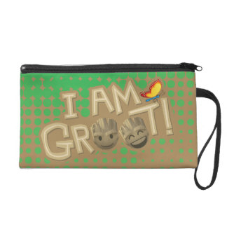 """I Am Groot"" Emoji Wristlet"