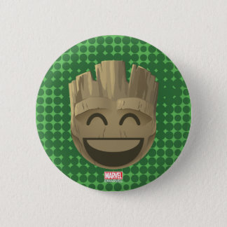 """""""I Am Groot"""" Text Emoji 2 Inch Round Button"""
