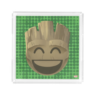 """I Am Groot"" Text Emoji Acrylic Tray"