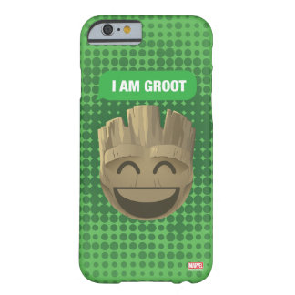 """I Am Groot"" Text Emoji Barely There iPhone 6 Case"