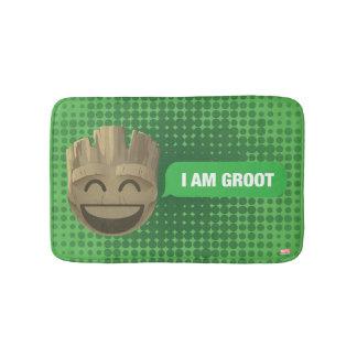 """I Am Groot"" Text Emoji Bath Mat"