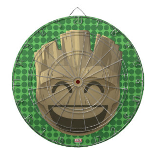 """I Am Groot"" Text Emoji Dartboard"
