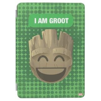 """I Am Groot"" Text Emoji iPad Air Cover"